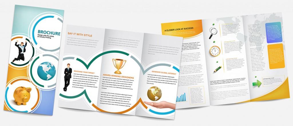 25 mẫu thiết kế brochure ấn tượng tạo cảm hứng cho bạn