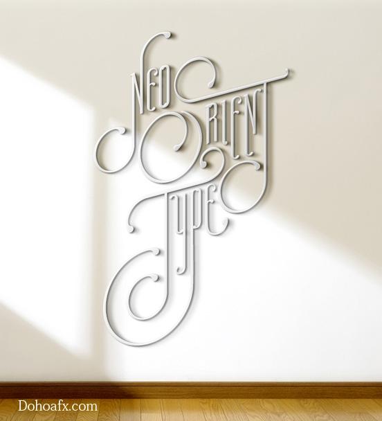 26 bản thiết kế typography tuyệt đẹp