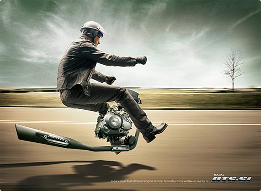 Những poster quảng cáo ô tô sáng tạo