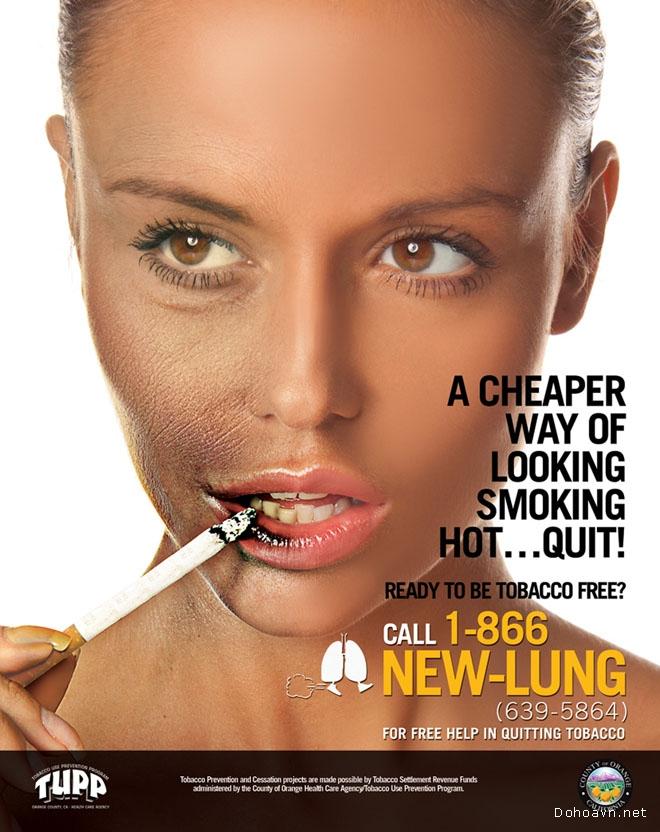 Xem những poster tốt nhất về tác hại của thuốc lá