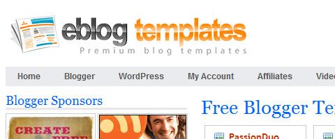 Mẫu website miễn phí từ blog – Internet Marketing