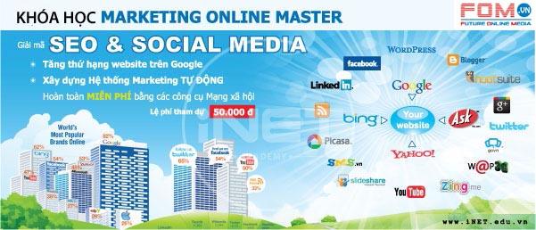 Khóa Internet Marketing đặc biệt: Giải mã Seo & Social Media