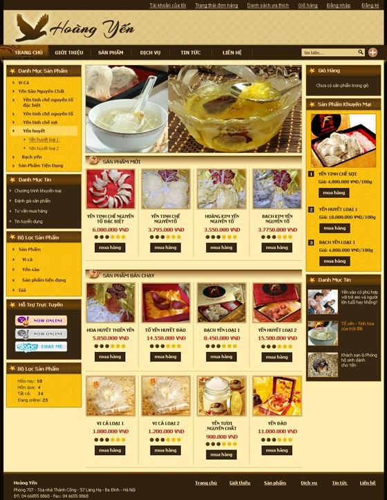 mau web suc khoe lam dep SKLD01 Website Nhà hàng   Khách sạn