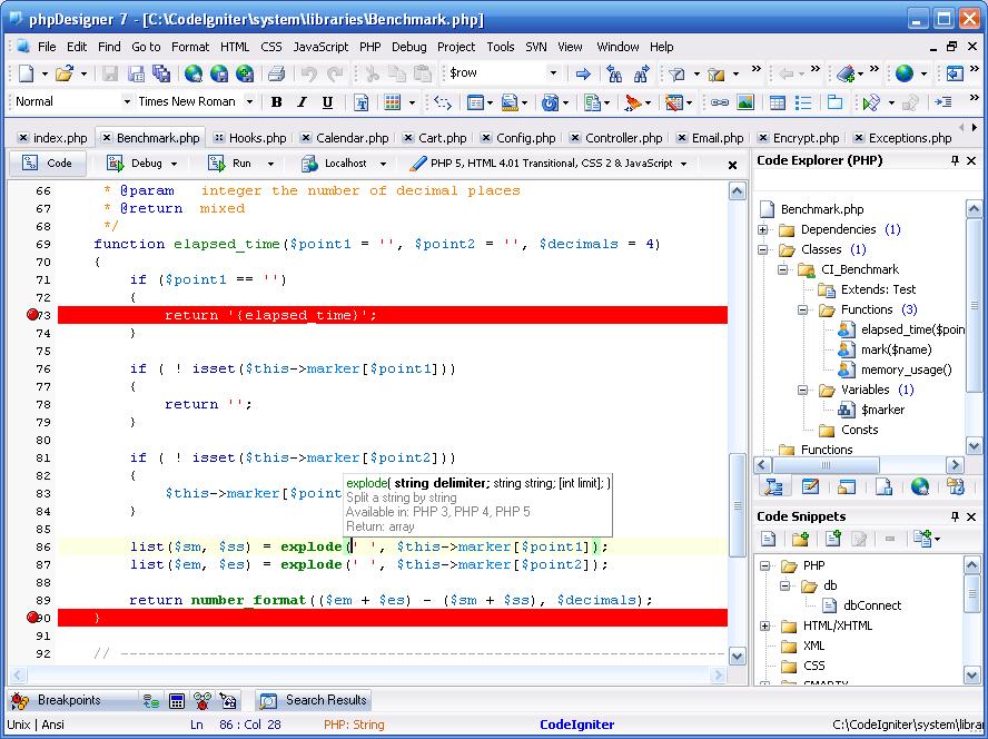 PHP Designer 7.2.4.17 (+ Portable) Full Crack – Phát triển tích hợp PHP và chỉnh sửa PHP