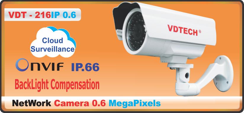 CAMERA VDT – 216IP 0.6