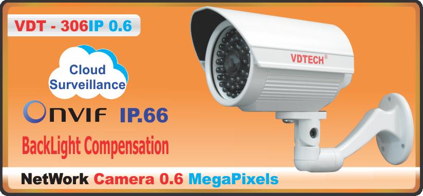 CAMERA VDT – 306IP 0.6