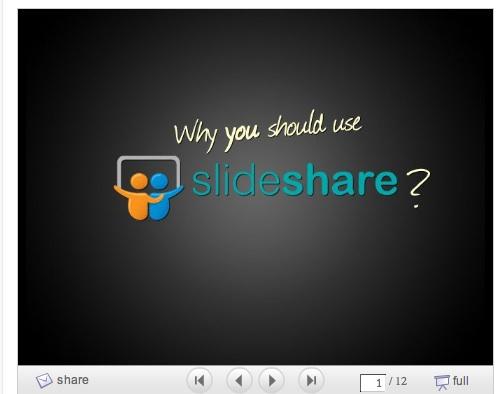 Slide Share 1 trong 10 cách để tái sử dụng nội dung bài viết