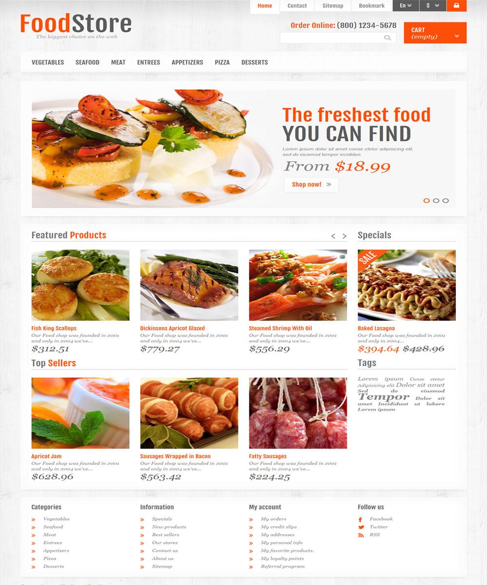 thiet ke web ban am thuc nha hang 13 Website Nhà hàng   Khách sạn