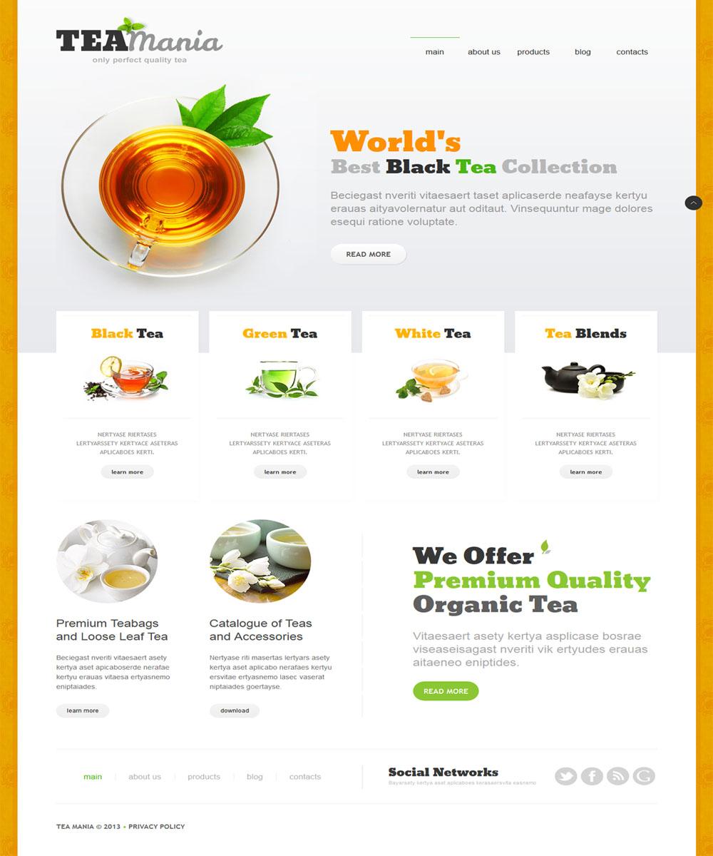 thiet ke web ban am thuc nha hang 14 Website Nhà hàng   Khách sạn