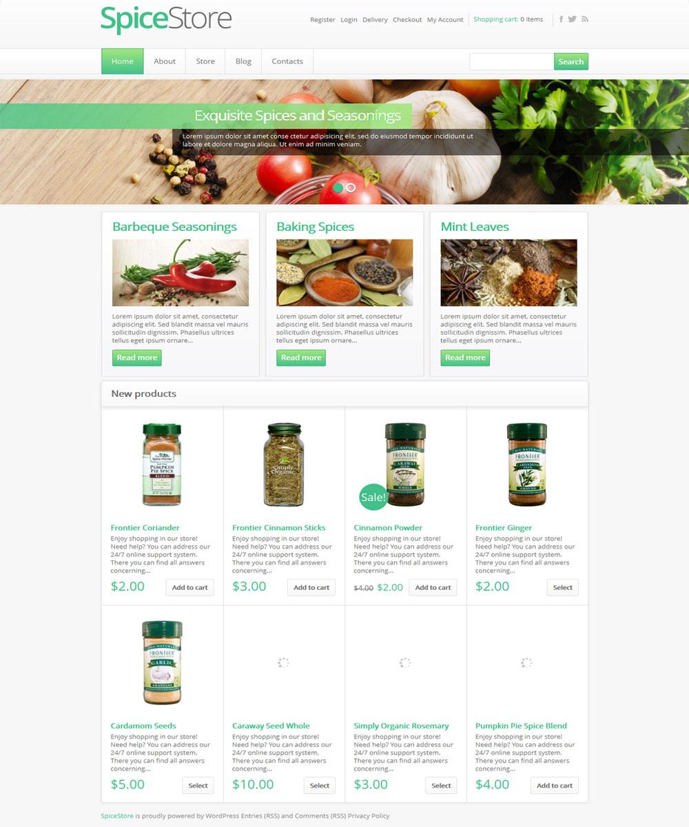 thiet ke web ban am thuc nha hang 16 Website Nhà hàng   Khách sạn