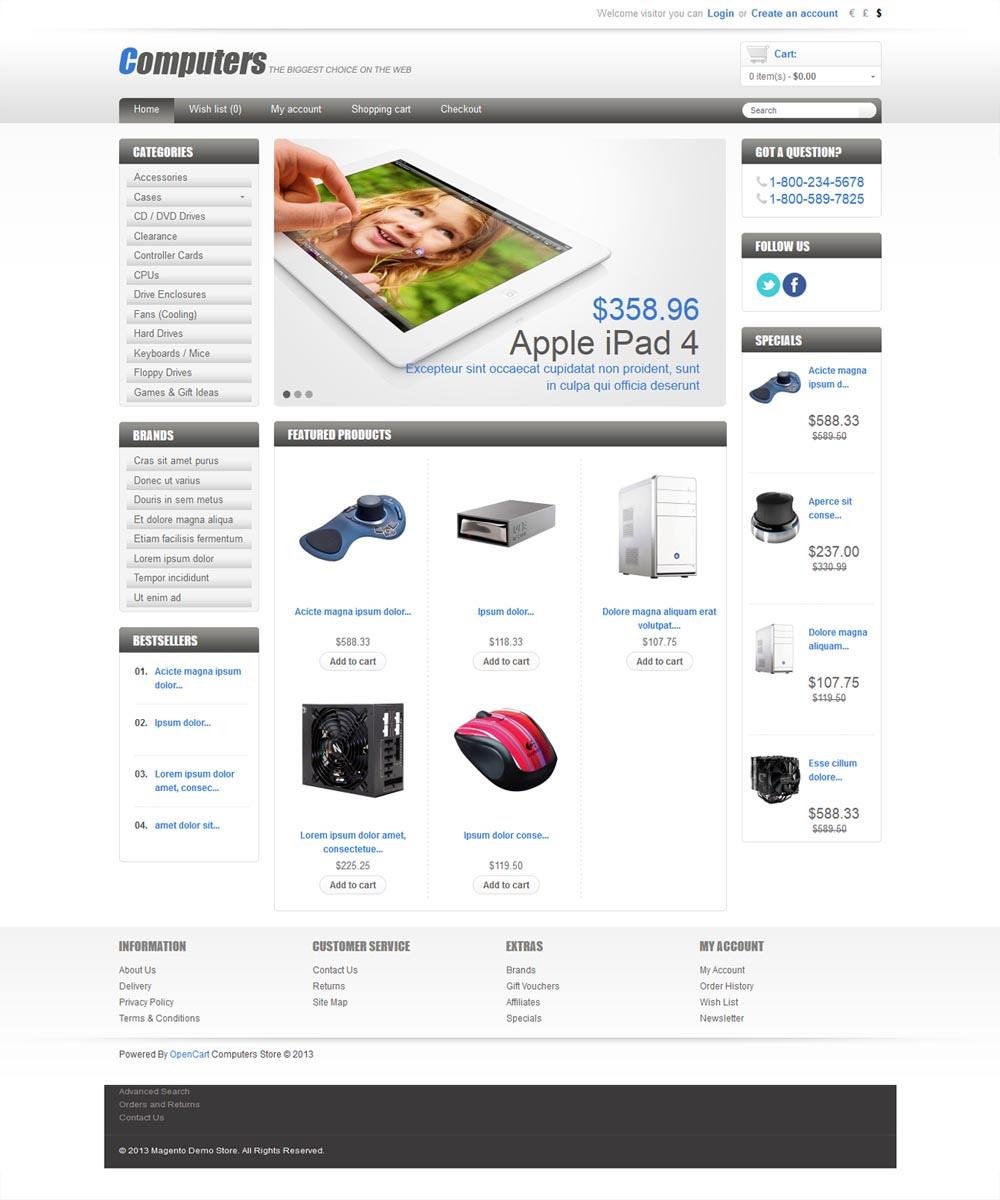 thiet ke web ban hang 10 Website bán hàng