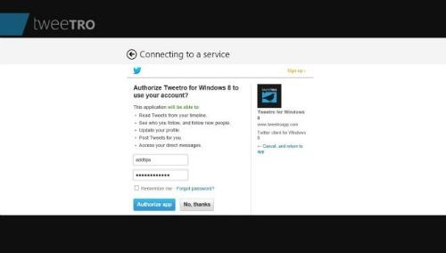 Twitter sử dụng ứng dụng như thế nào?